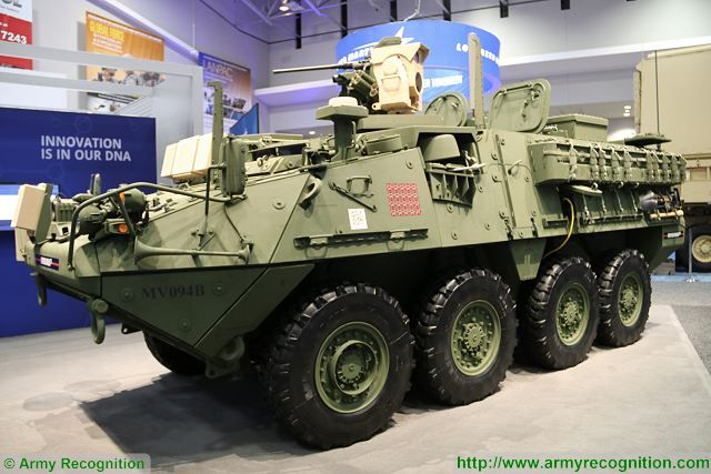 Next generation of US army combat vehicles will feature laser weapon system Stryker MEHEL 2 640 002