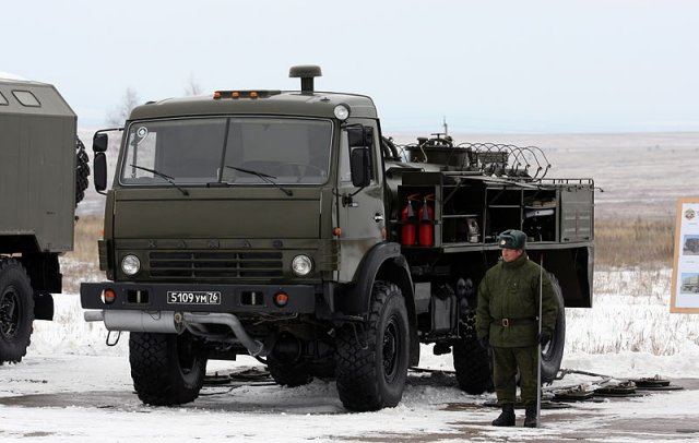 Russia Defense Ministry has received batch of advanced ARS-14KM decontamination trucks