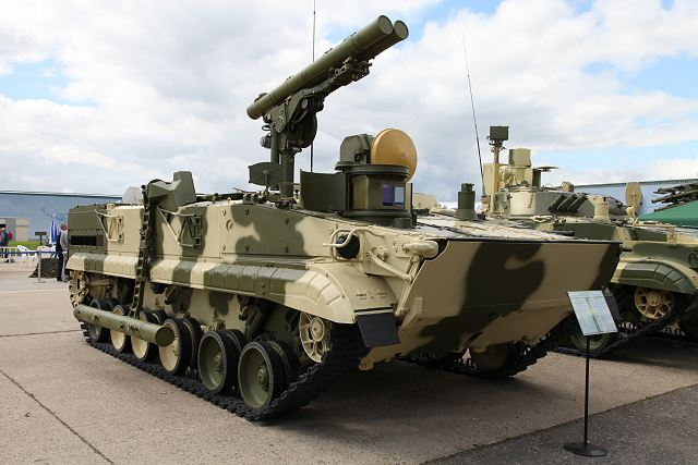 Russia will develop a new generation of anti-tank missile using fire-and-forget technology 640 001