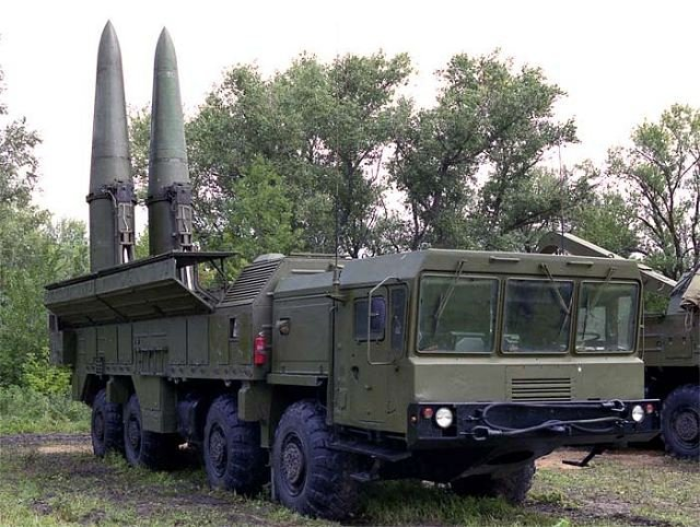 Russian Ministry of Defense received the eighth operational Iskander-M brigade complex