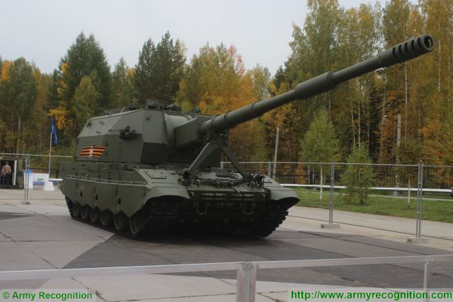 Russian armed forces artillery brigades to receive 2S35 Koalitsiya-SV howitzers in the near future 640 001