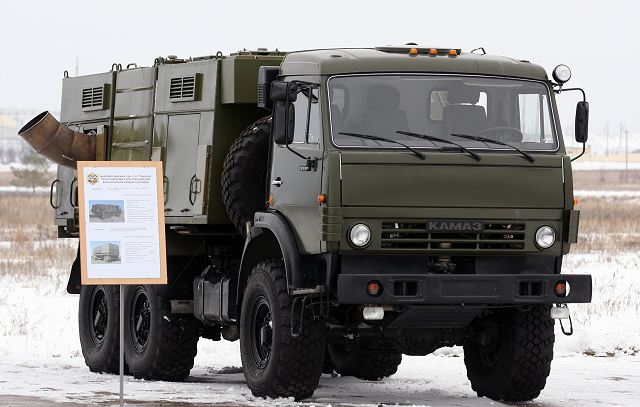 The Southern Military District's chemical, biological, radiological and nuclear (CBRN) large unit stationed in the Volgograd Region has taken delivery of 10 advanced TDA-3 smokescreen generators on the KamAZ-5350 Mustang chassis, according to the district's press office.