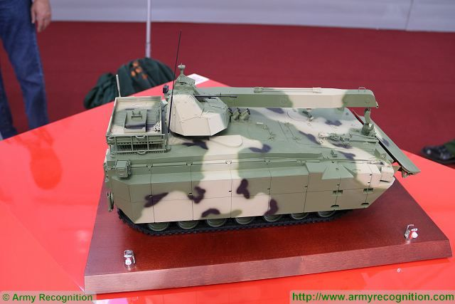 The Russian Army will take on strength a sophisticated armored recovery vehicle (ARV) derived from the Kurganets platform in several years, according to the Izvestia daily.