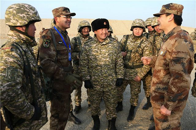 Shanghai Cooperation Organization members started seven-day joint military training exercise 640 001