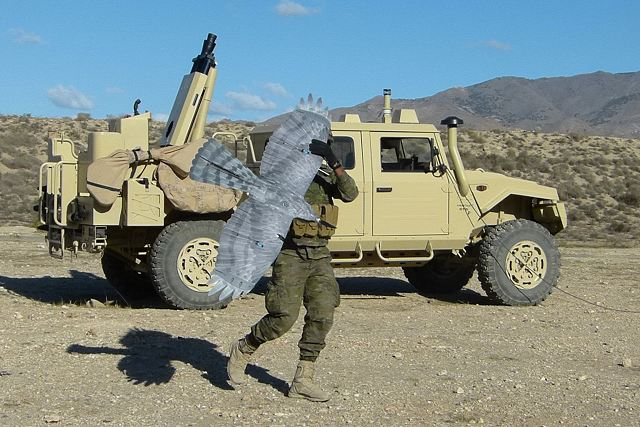 Spanish Company Expal demonstrates its One-Stop Shop for Mortar Systems including UAV 640 001
