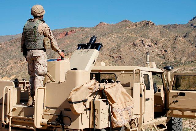 The Spanish Company Expal has demonstrated its 'One-Stop Shop' for Mortar Systems Tuesday, November 16th, in the Spanish Army firing and training range 'Álvarez de Sotomayor', located in Almeria (Spain).