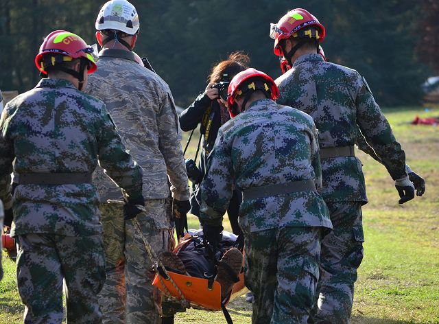 A joint medical military exercise with German and Chinese troops will be held in China 640 001