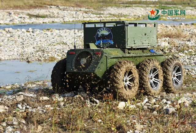 Chinese army to organize Unmanned Ground System Challenge Conquer Obstacle 2016 640 001
