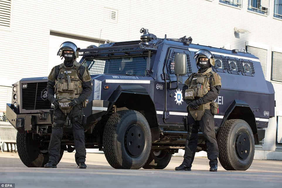 German Anti-terror Police unit receives Achleitner Survivor I High Mobility Vehicle 640 001