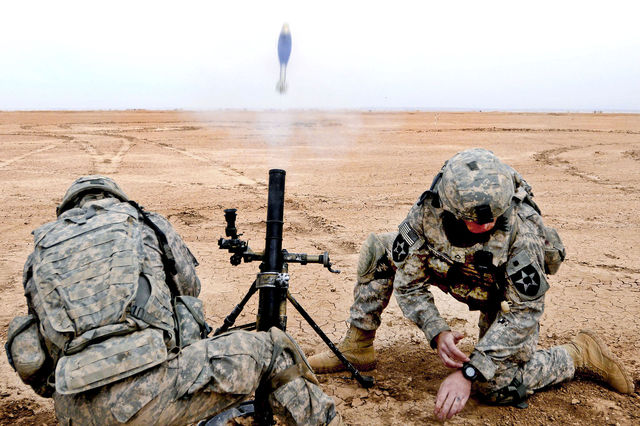 Orbital ATKs M1061 mortar cartridge receives full material release 640 001
