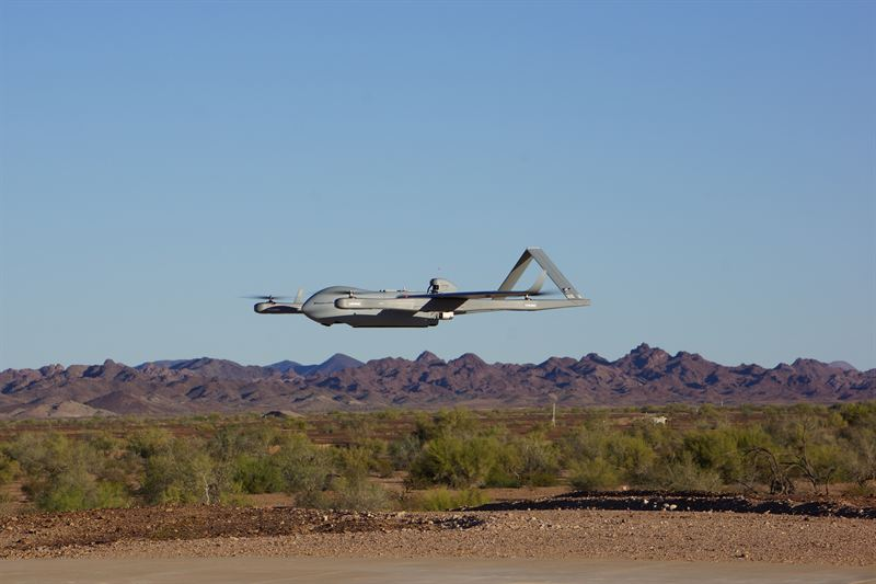 Textron Systems offers new sensor on Aerosonde Small Unmanned Aircraft System 640 001