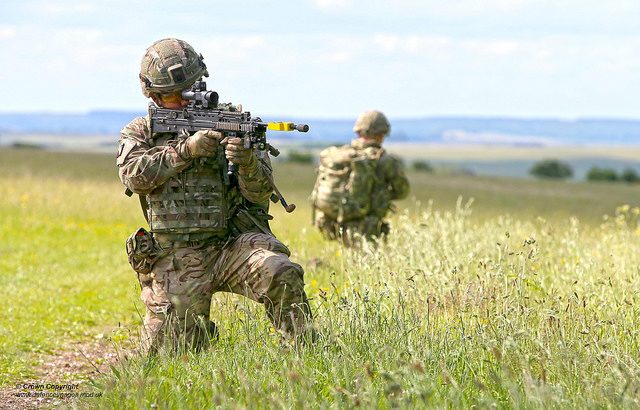 UK Armed Forces will increase their support to a NATO force in Kosovo 640 001