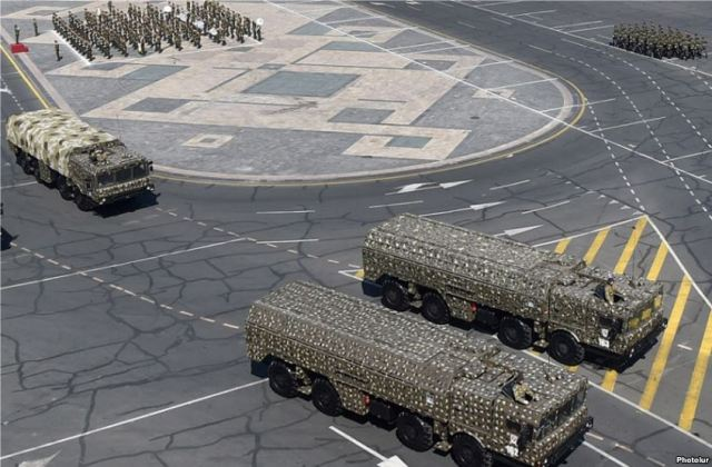 Armenia displays Russian Iskander-E tactical ballistic missile at Independence day military parade 640 001