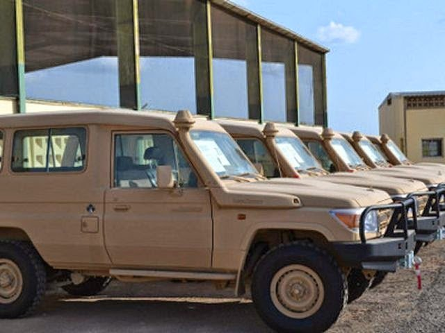 Bukkehave to deliver 600 Toyota Land Cruiser trucks to Iraq 640 001
