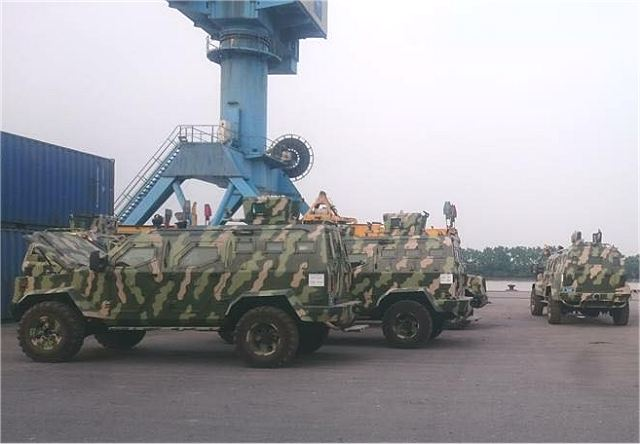 IAG Company from United Arab Emirates has delivered Guardian 4x4 APC to Vietnam 640 001