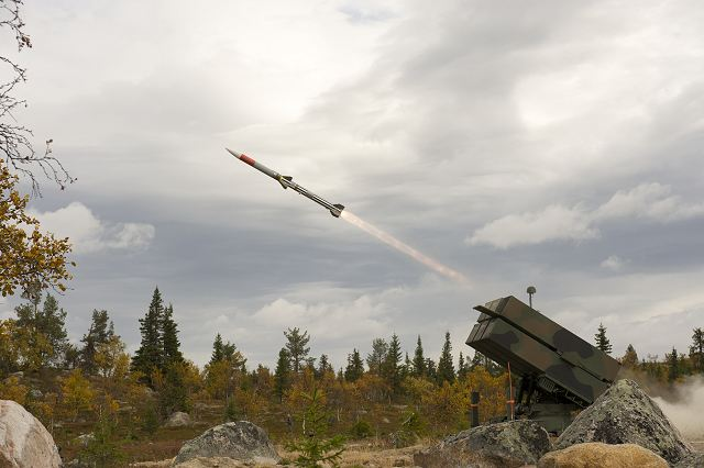 Lithuania will purchase NASAMS Norwegian Advanced Surface to Air Defense Missile System 640 001