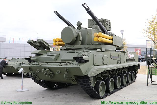 Minotor from Belarus to complete modernization of 2S6 Tungunska anti-aircraft combat vehicle 640 001