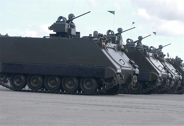 Philippine army to acquire more upgraded M113A2 APC Armoured Personnel Carrier 640 001