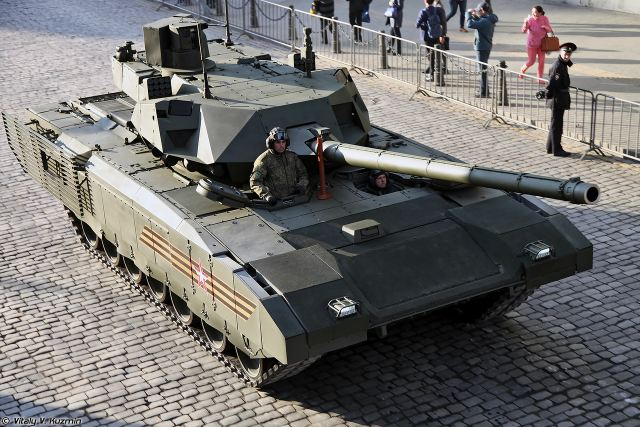 Russian Company Uralvagonzavod will start first update of T-14 Armata main battle tank 640 001