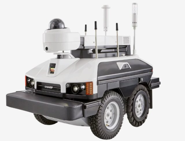 Sharp unveils new INTELLOS UGV designed for security missions 640 001