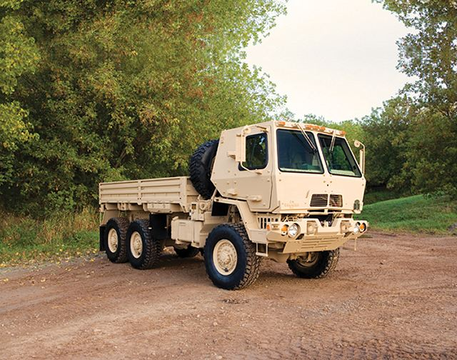 US Army awarded Oshkosh Defense a contract to produce 1661 FMTV tactical trucks 640 001