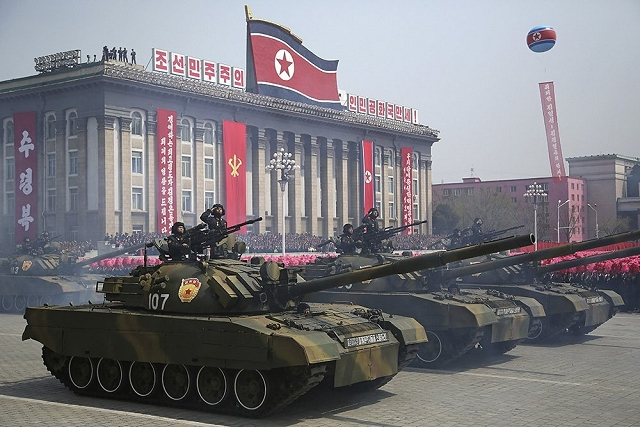 The Chonma-ho is a main battle tank designed and manufactured in North Korea based on the Soviet-made main battle tank T-62.