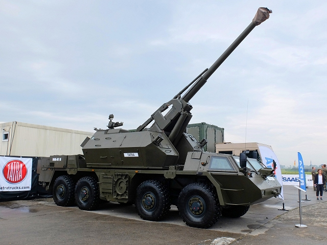 The Czech Company Tatra has won a contract for the modernization of 33 Dana 152mm wheeled self-propelled howitzers of the Czech Army. The Czech Ministry of Defense plans to deliver the first modernized vehicles DANA- M1M between 2018 and 2020.
