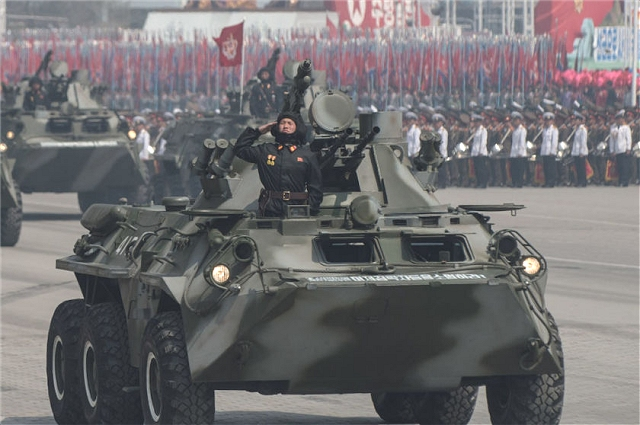 The M-2010 is an wheeled armoured vehicle personnel carrier based on the Russian-made BTR-80, the vehicle is in service with the North Korean army in 6x6 and 8x8 configuration.
