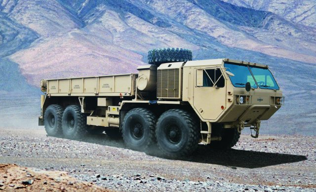 Oshkosh announced today that is has been awarded multiple delivery orders from the U.S. Army Tank-Automotive and Armaments Command (TACOM) to recapitalize its Family of Heavy Tactical Vehicles (FHTV). Oshkosh will bring the Army's fleet of Heavy Expanded Mobility Tactical Trucks (HEMTT) and Palletized Load Systems (PLS) to its latest model configuration and the same zero-mile, zero-hour condition as new production vehicles.