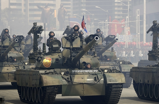 The Pokpung-ho MBT (Main Battle Tank) is North Korean-made main battle tank based on technologies of Russian T-72, T-80 and T-90 MBTs