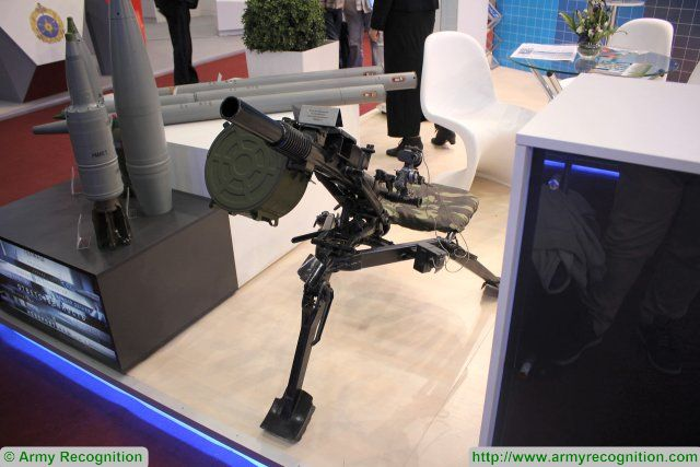 Russia tests the AGS 40 Balkan automatic grenade launcher in operational situation 640 01