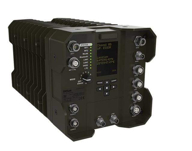 Bittium expands its tactical communications offering with a software defined radio based Bittium Tough SDR product family that includes Bittium Tough SDR Handheld™, tactical handheld radio for individual soldiers, and Bittium Tough SDR Vehicular™, tactical radio for vehicle installations.Bittium will showcase the products for the first time at the DSEI exhibition to be held in London September 12-15, 2017.