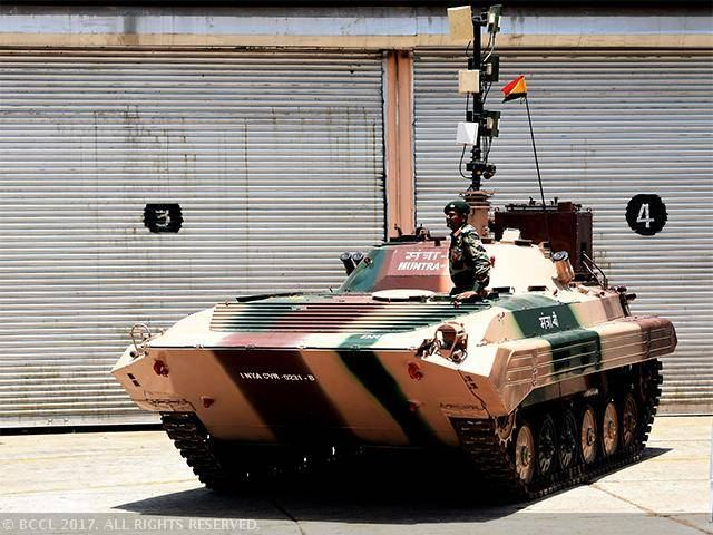 India`s Defense Research and Development Organization has developed the first indigenous unmanned ground vehicle (UGV), according to the Economic Times newspaper. The UGV is based on the Soviet BMP-1 infantry fighting vehicle (IFV) and dubbed Muntra. Two such vehicles were showcased at the Science for Soldiers exhibition.