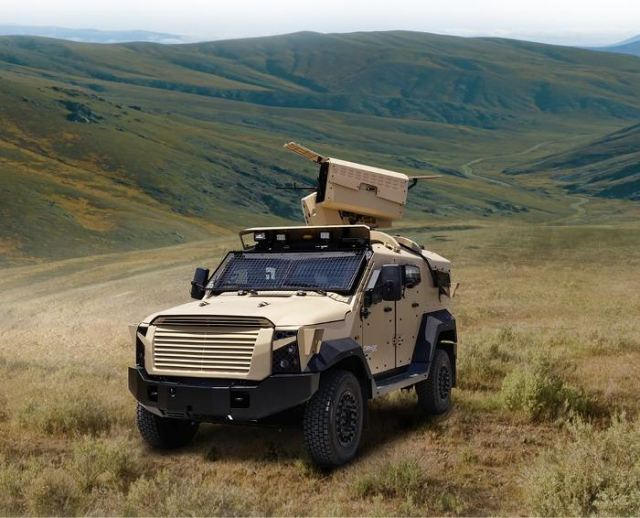 "According to the website ""Israel Defense"", Plasan Sasa, an Israeli manufacturer of armor protection solutions for vehicles, has unveiled a new variant of their SandCat-Stormer armored vehicle, for the first time following serial delivery to an international client – the Stormer RCWS/MLS."
