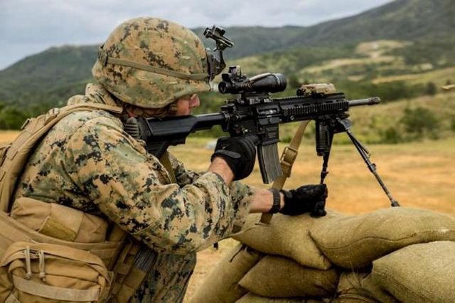 The Marine Corps is requesting 50,000 M27 Infantry Automatic Rifles to replace the M4 carbine that infantry and other units currently use.