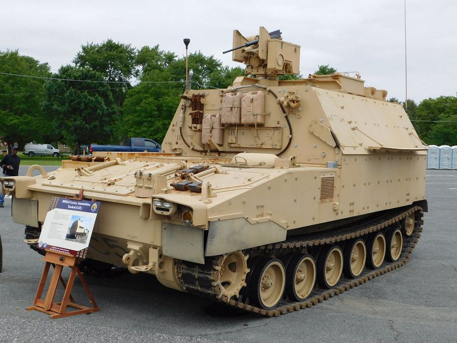 BAE Systems contract to produce M109A7 howitzers M992A3 ammunition carrier vehicle for US Army 925 002