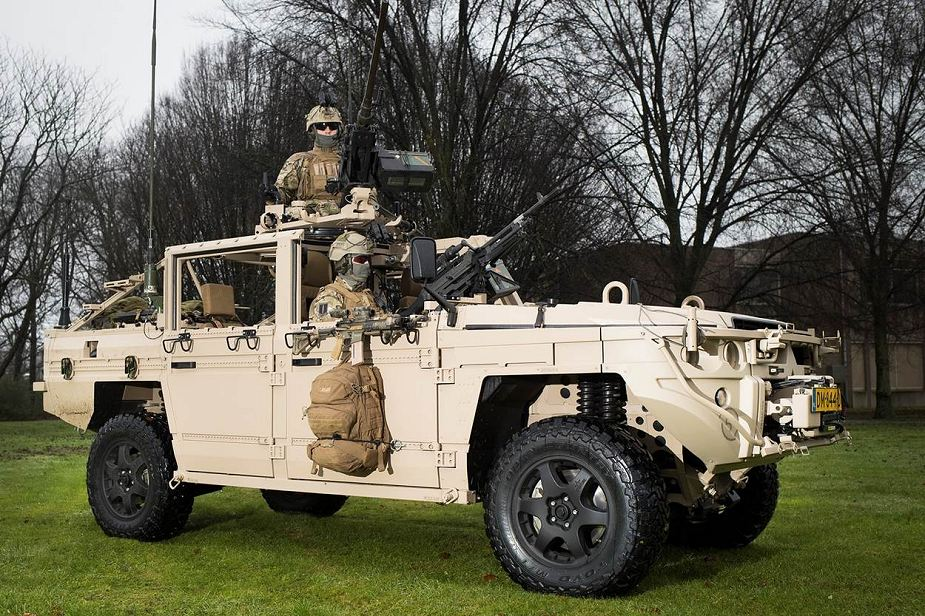 Dutch Army Special Forces take delivery of VECTOR Versatile Expeditionary Commando Tactical Off Road4x4 vehicle 925 001