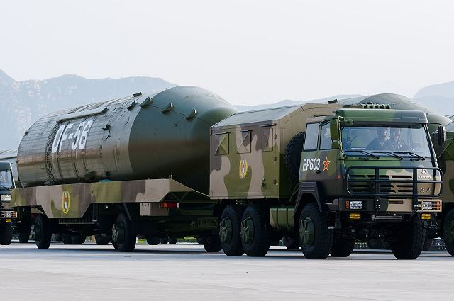 China has performed flight test with DF 5C ICBM InterContinental Ballistic Missile 640 001