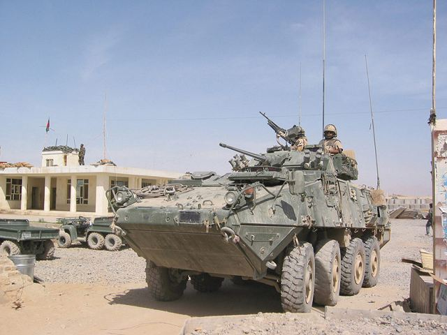General Dynamics Land Systems–Canada has been awarded a CA$404 million contract amendment by the Government of Canada to upgrade 141 Light Armoured Vehicle (LAV) III vehicles. The vehicle is the standard 8x8 APC (Armoured Personnel Carrier used by the Canadian armed forces.