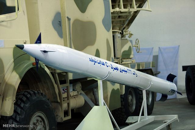 Iranian defense industry unveils a new version of its Fajr 5 MLRS (Multiple Launch Rocket System) using guided rocket. The previous version of the Fajr 5 was developed by Iran in 1990s. Iran's Defense Ministry unveiled five new military products on Monday, February 6, 2017 including the new Fajr 5 MLRS.