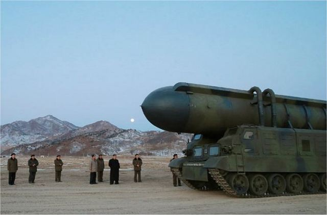 North Korea has test fired new Pukguksong 2 ballistic missile from armoured tracked chassis 640 001