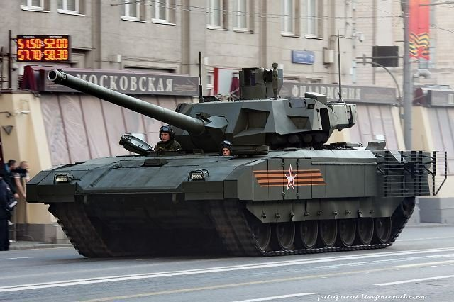 Russia s Rosatom developing ammunition for advanced T 14 main battle tanks 640 001