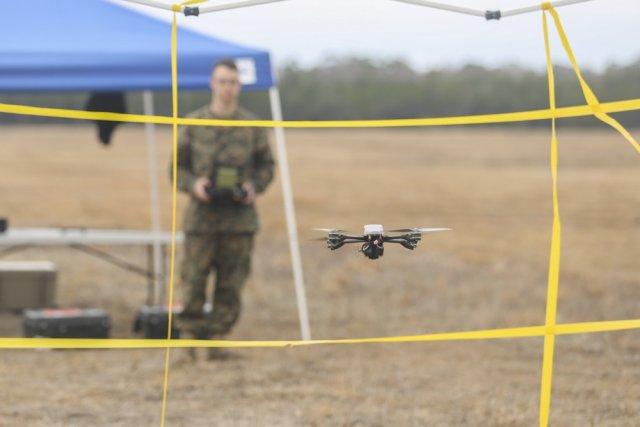 Task Force Southwest Marines test new drone capabilities 640 001