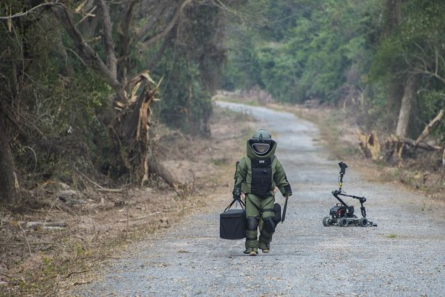 US army EOD teams trained with Royal Thai military EOD units during Cobra Gold 2017 640 001