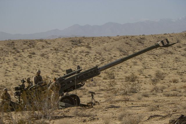 Contract for BAE Systems to provide 145 M777 ultra-light howitzers to the Indian army 640 001