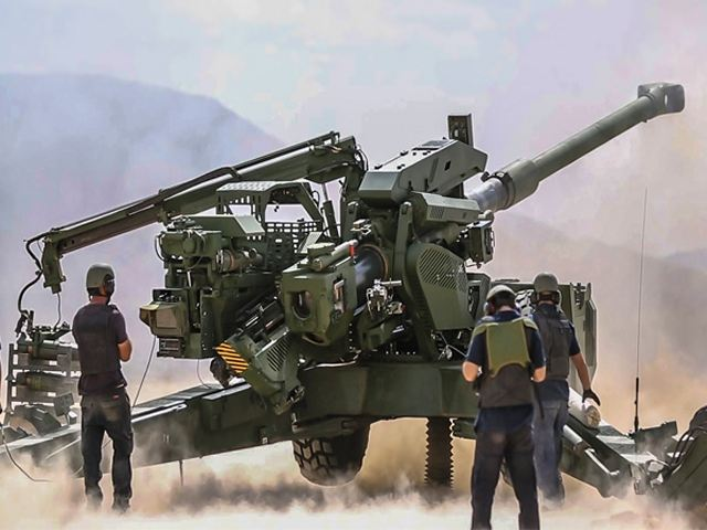 Indian army gave the go-ahead for DRDO ATAGS 155mm Advanced Towed Artillery Gun System 640 001