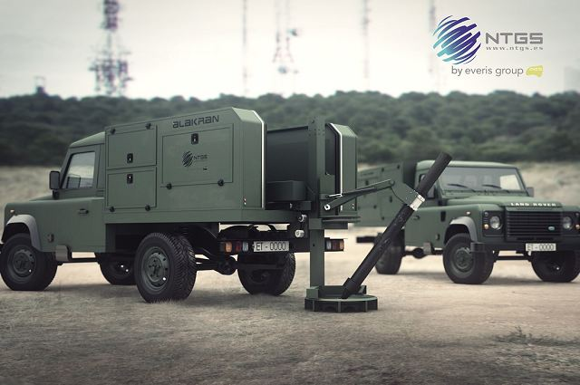 NTGS from Spain won first export contract for its Alakran light mobile 120mm mortar system 640 001