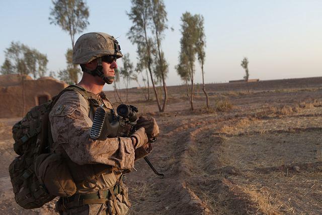 New task force of 300 US Marines will be sent in Afghanistan to advise Afghan army and police 640 001