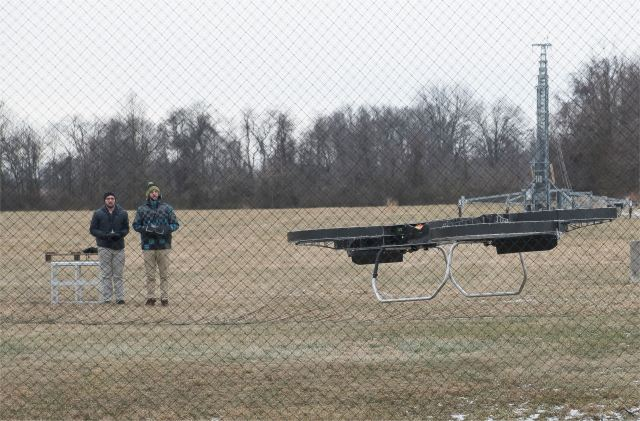 Quadcopter hoverbike JTARV demonstrated by US Army Research Laboratory 640 002