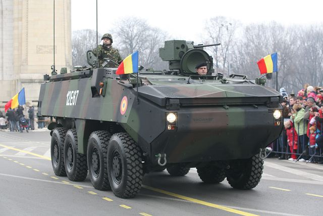 Romania has ordered more General Dynamics Piranha III 8x8 armoured vehicles 640 001